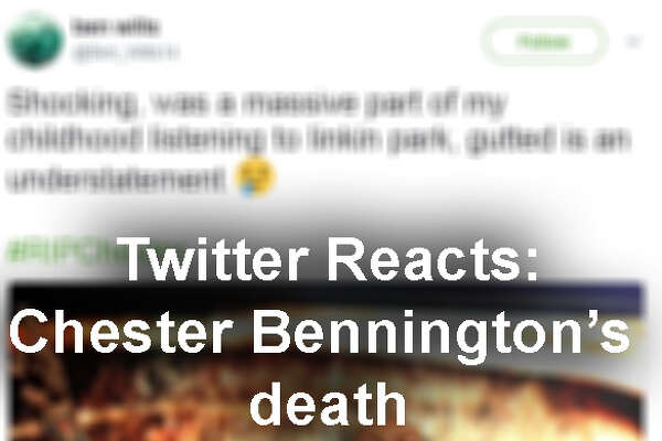 Click through the gallery to see Bennington's band mates, musicians and fans reactions and condolences to his death...