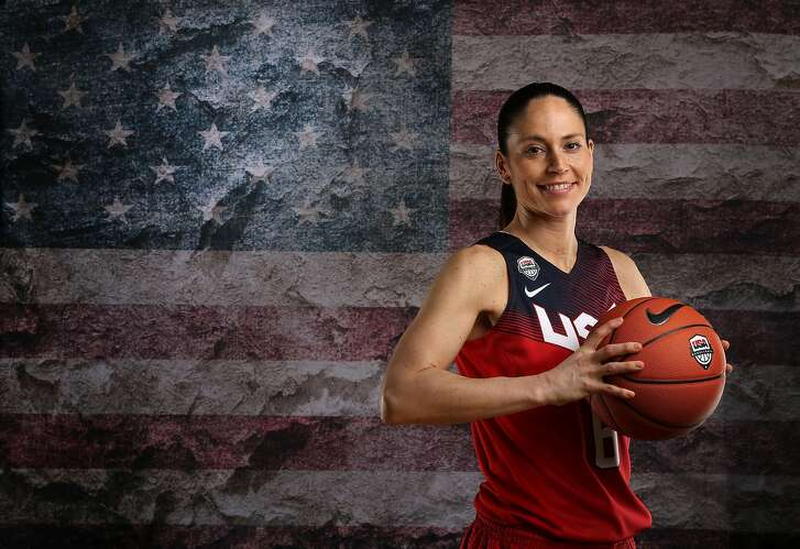 BEVERLY HILLS, CA - MARCH 09:  Basketball player Sue Bird poses for a portrait at the 2016 Team USA Media Summit at The Beverly Hilton Hotel on March 9, 2016 in Beverly Hills, California.  (Photo by Sean M. Haffey/Getty Images)