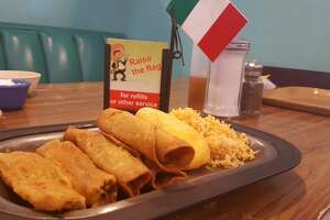 South Houston  Raise the flag for more cheese and sopapillas at Pancho's Mexican Buffet.