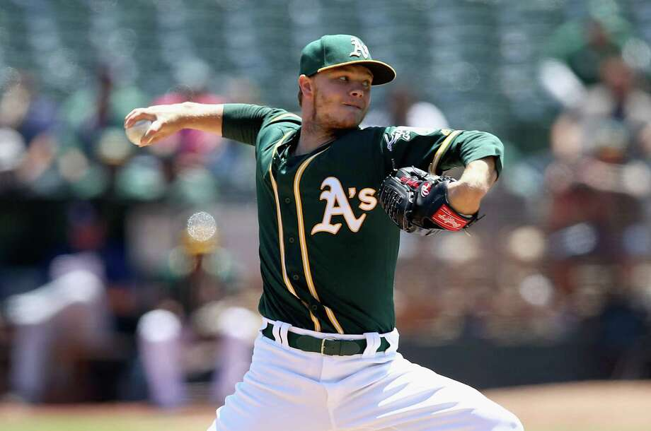 PHOTOS: Starting and relief pitchers who could be available at the MLB Trade DeadlineOakland's Sonny Gray is one of the most attractive starting pitchers available on the trade market, but the question remains: Are the Astros still looking to add another starting pitcher?Browse through the photos for a look at pitchers who could be available heading into Monday's MLB Trade Deadline. Photo: Ezra Shaw, Staff / 2017 Getty Images