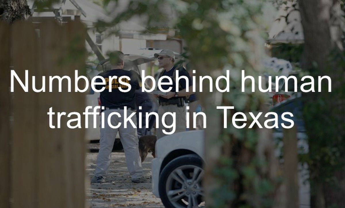 Numbers behind human trafficking in Texas