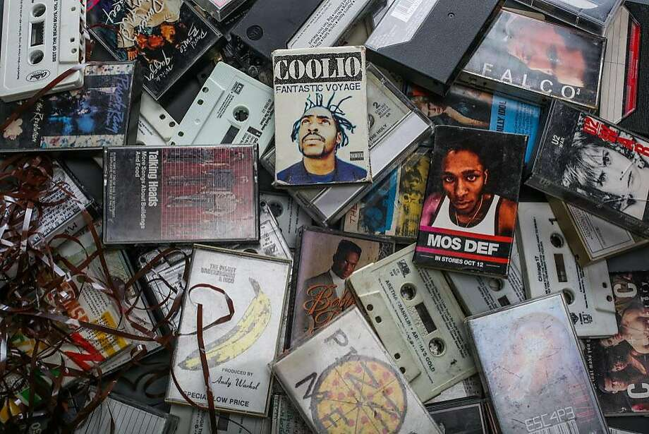 Billboard reported in January that cassette sales spiked 76 percent in 2016. Photo: Gabrielle Lurie, The Chronicle