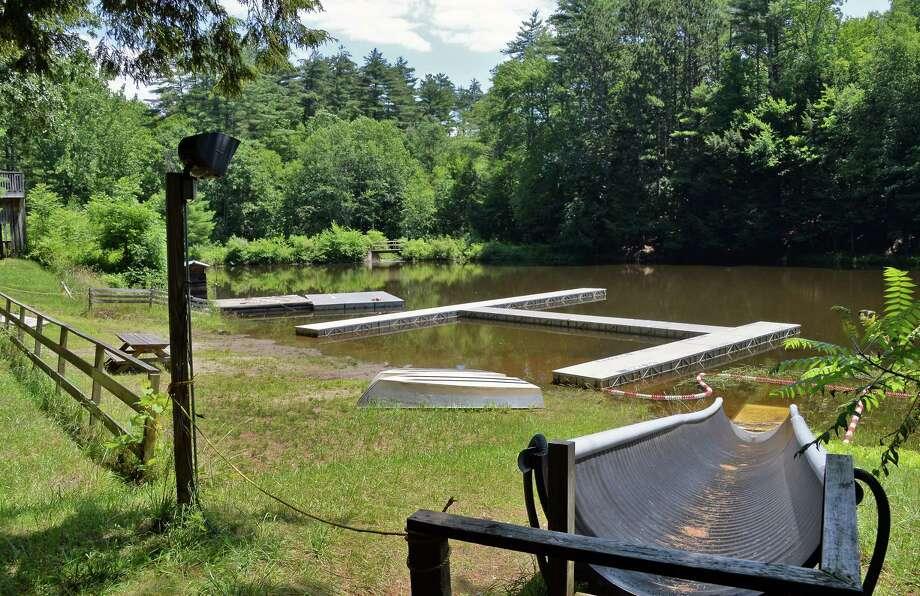 Boyhaven has a lake for swimming.  (John Carl D'Annibale / Times Union) Photo: John Carl D'Annibale / 20041082A