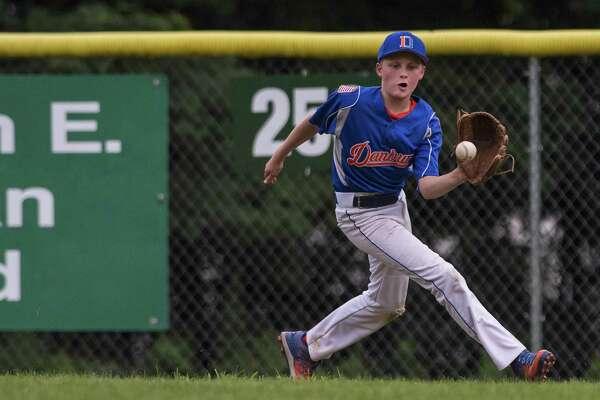 Norwalk Cal Ripken 11-year-olds against Danbury Cal Ripken 11-year-olds during a baseball game played at Mitchell Park, Bethel, CT. Thursday, July 20,2017.