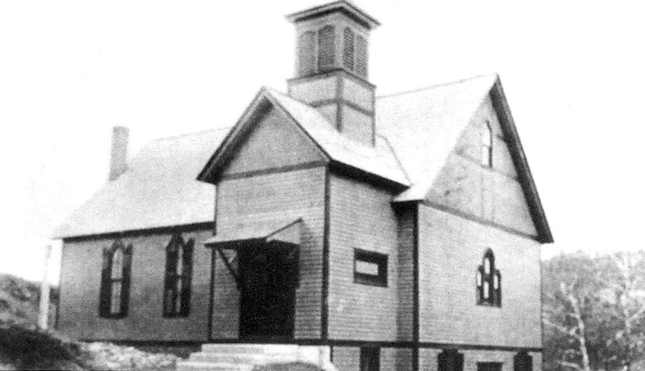 """The majority of residents in the Greater New Milford area might recognize this building at 5 Brookside Ave. as home to TheatreWorks, which is celebrating its 50th anniversary this year. It is, but before the theater moved into the space, the building served as home to the Advent Christian Church, built in 1901. If you have a """"Way Back When"""" photo to share, contact Deborah Rose at drose@newstimes.com or 860-355-7324. Photo: Courtesy Of Fran Smith"""