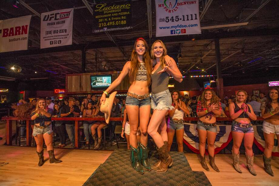 Denim ruled ladies' night at San Antonio's Wild West for a Daisy Dukes contest on July 20, 2017. Photo: Kody Melton, For MySA