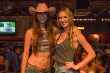 Denim ruled ladies' night at San Antonio's Wild West for a Daisy Dukes contest on July 20, 2017.