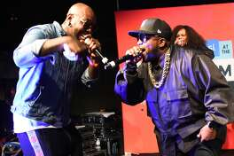 SAN DIEGO, CA - JULY 20: Rapper Big Boi (R) performs onstage at the FANDOM Party during Comic-Con International 2017 at Hard Rock Hotel San Diego on July 20, 2017 in San Diego, California. (Photo by Araya Diaz/Getty Images for FANDOM)