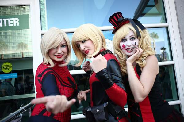 Cosplayers during 2017 Comic-Con International on July 20, 2017 in San Diego, California.  (Photo by Tommaso Boddi/Getty Images)