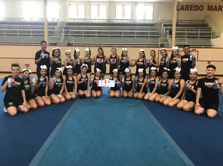 Martin High School cheerleaders participate in an NCA cheer-intensive at the school and received an invitation to participate at the NCA Nationals in Dallas in January.Click ahead to see what cheerleaders looked like the year you were born. Photo: Courtesy
