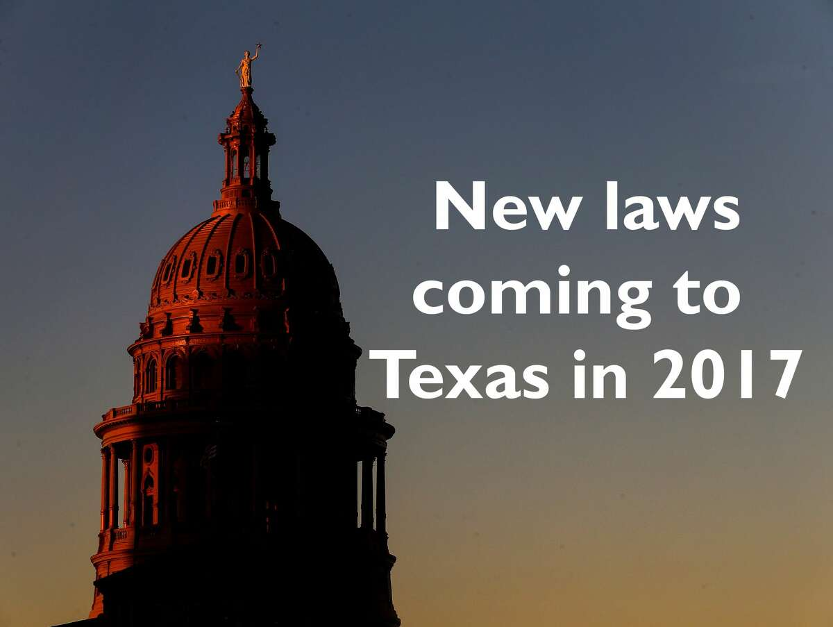 Keep going for a look at the new laws passed by the Texas Legislature in 2017.