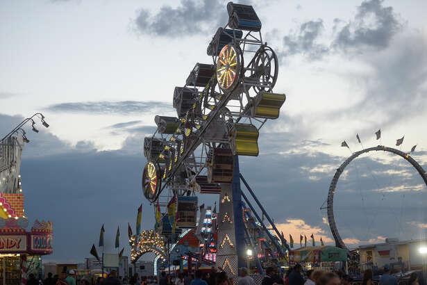 Midland County Fair and Rodeo on Saturday, Aug. 27, 2016, at Horseshoe Pavilion.  James Durbin/Reporter-Telegram