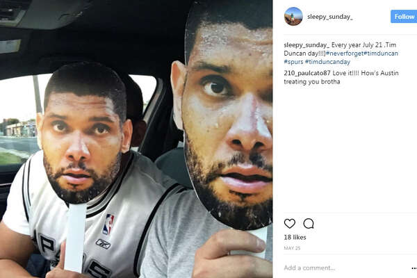 "sleepy_sunday_ : ""Every year July 21 ,Tim Duncan day!!!}#neverforget#timduncan #spurs #timduncanday"""