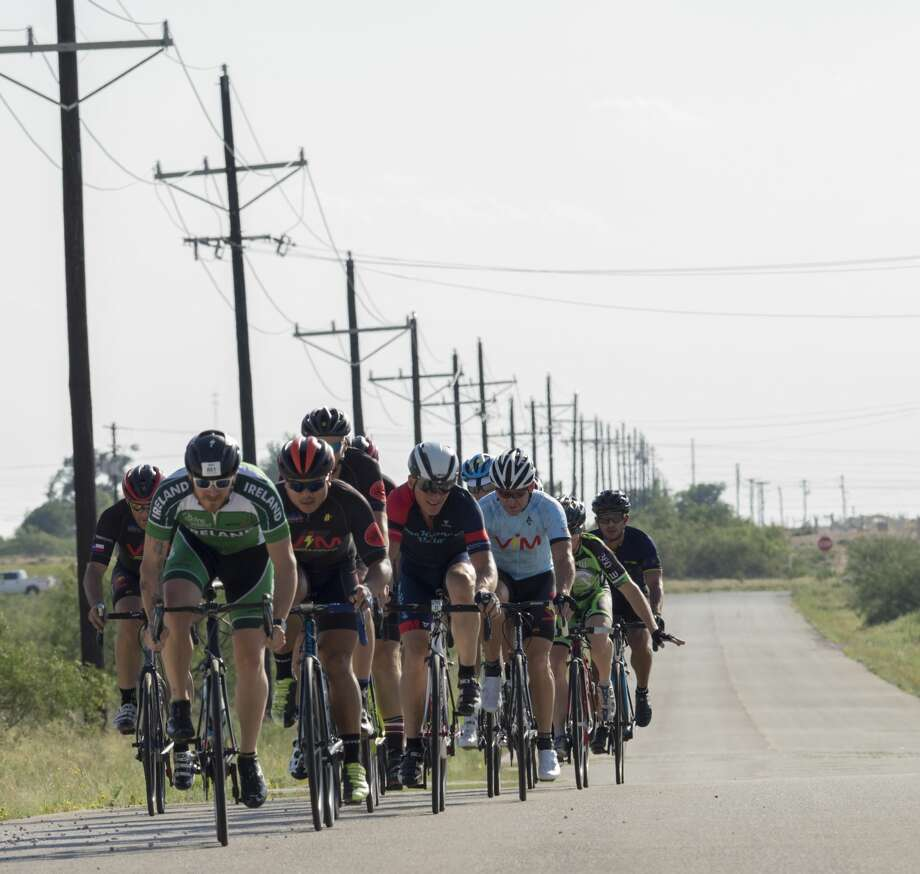 With heavy traffic on the region's roadways, cyclists are looking for safer routes to protect riders from large trucks and debris. Photo: Tim Fischer/Midland Reporter-Telegram