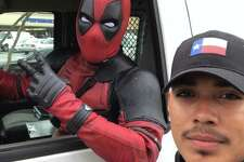 "When Evo ""Deapool"" Gambino isn't working hard to become Houston's top superhero, he sometimes works for Uber."