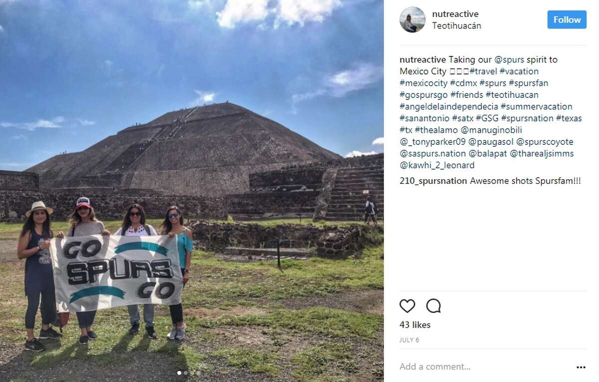 nutreactive in Mexico City: Taking our @spurs spirit to Mexico City