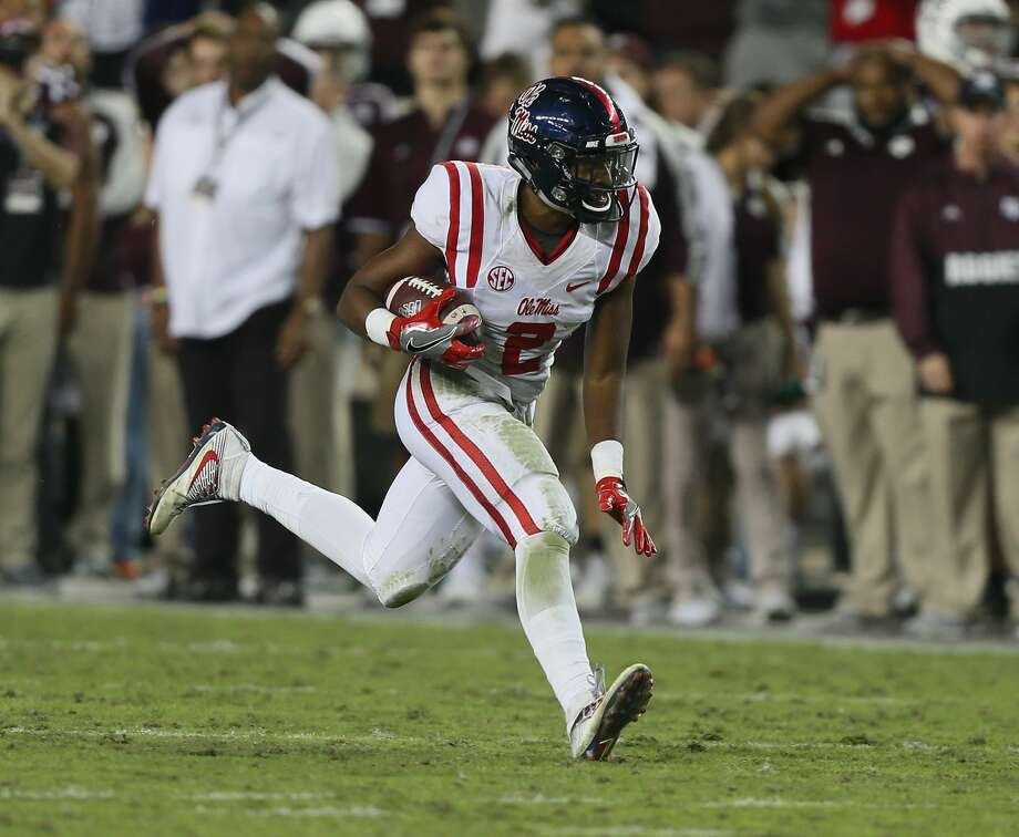 Former Ole Miss safety Deontay Anderson announced on Twitter he is going to transfer to Houston. He graduated from Manvel High School. Photo: Bob Levey/Getty Images