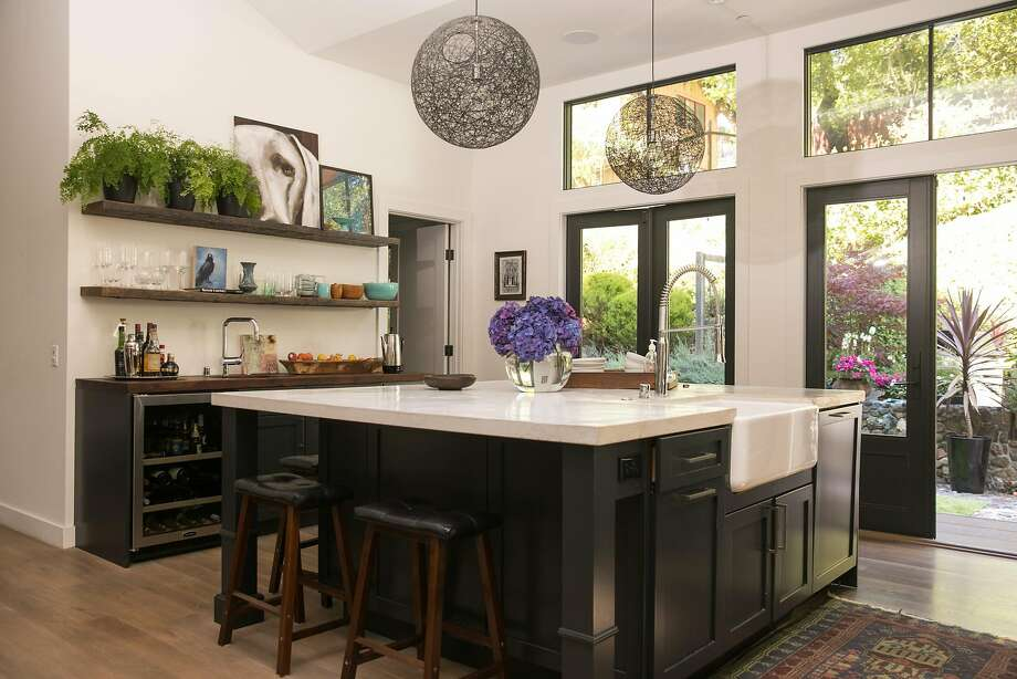 Light-filled kitchen in remodeled Mill Valley home. Photo: Mason Trinca, Special To The Chronicle