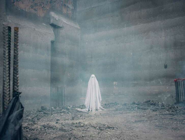 Casey Affleck in A Ghost Story Photo by Bret Curry, courtesy of A24