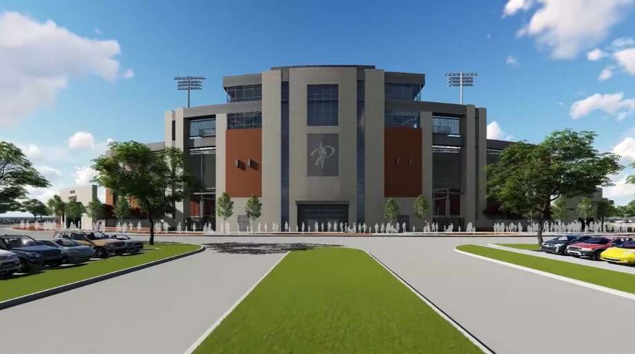 Prosper ISD recently revealed the design for its 12,000-seat, $48 million stadium.Keep going to see more views of the proposed facility.