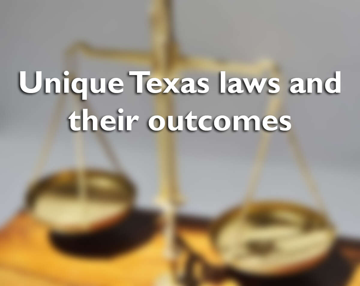 Check out some of the nooks and crannies of the Texas justice system that have led to strange and landmark cases.