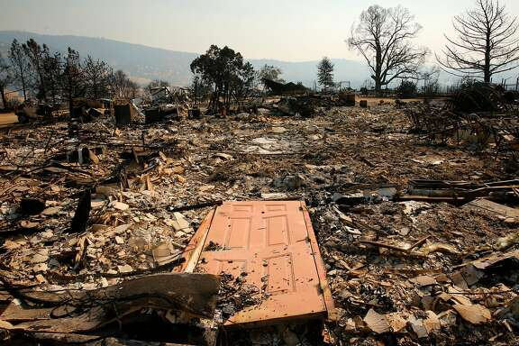 """What locals call """"The Little Church in the Hills"""" was totally destroyed in the Detwiler Fire in Mt. Bullion, Ca., as seen on Friday July 21, 2017."""