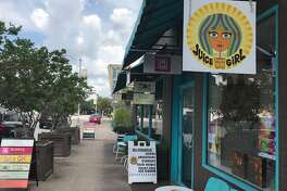 Juice Girl on 19th Street in the Heights will debut a vegan ice cream shop, called Over The Moon, in the same strip center.