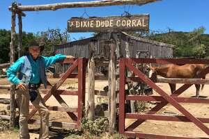 Wrangler Leon Bubba Estes is a colorful cowboy at the Dixie Dude Ranch.