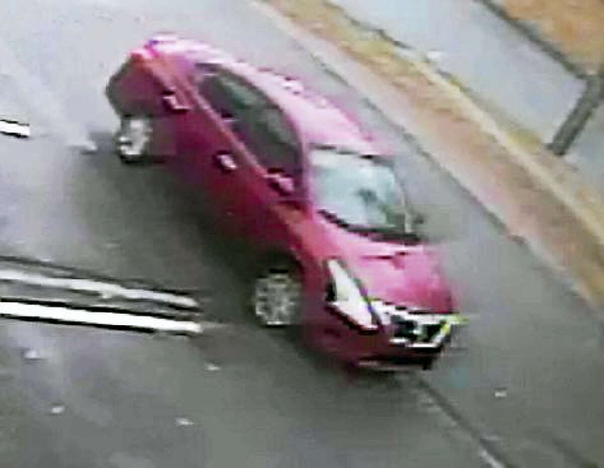 (East Haven Police Department) Police are looking for this vehicle in connection with a robbery at EbLens on Foxon Road in East Haven on Tuesday.