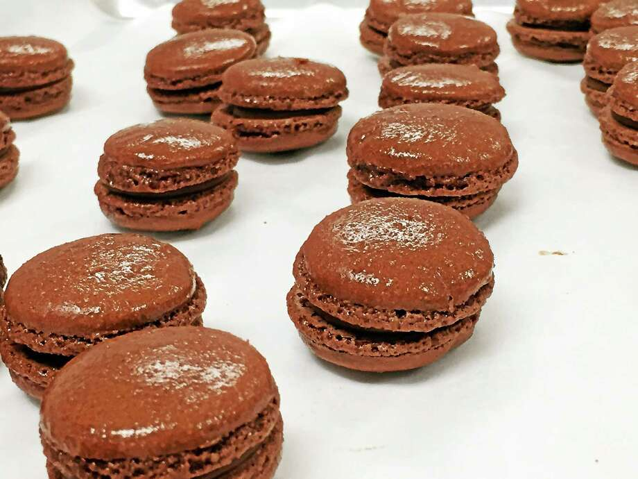 Contributed photo Nutella-flavor marijuana macaroons will soon be available at Bluepoint Wellness of Connecticut. Photo: Journal Register Co.