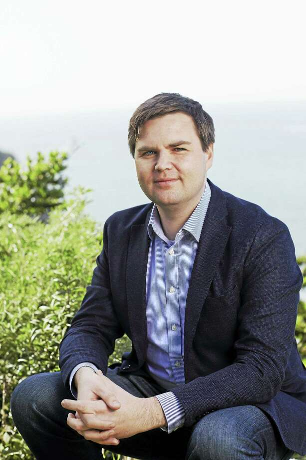 Author  J.D. Vance Photo by Naomi McColloch. Photo: Digital First Media