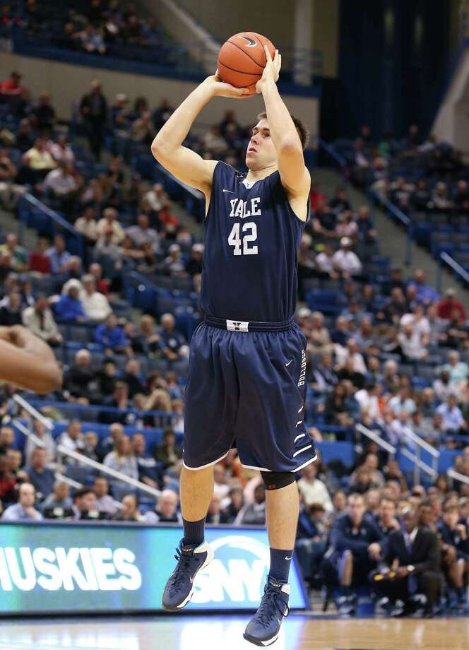 Matt Townsend is not only a starter for Yale, he also boasts a 4.0 GPA and is the first Bulldogs men's basketball player to be named an Academic All-American since 1999. Photo: Photo Courtesy Of Yale Athletics