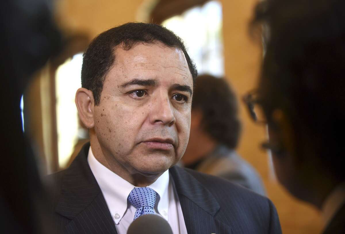 U.S. Rep. Henry Cuellar, D-Laredo, speaks about the North American Free Trade Agreement, or NAFTA, before a luncheon sponsored by the Free Trade Alliance of San Antonio and the San Antonio Chamber of Commerce at the Pearl Stable on Friday, July 21, 2017.