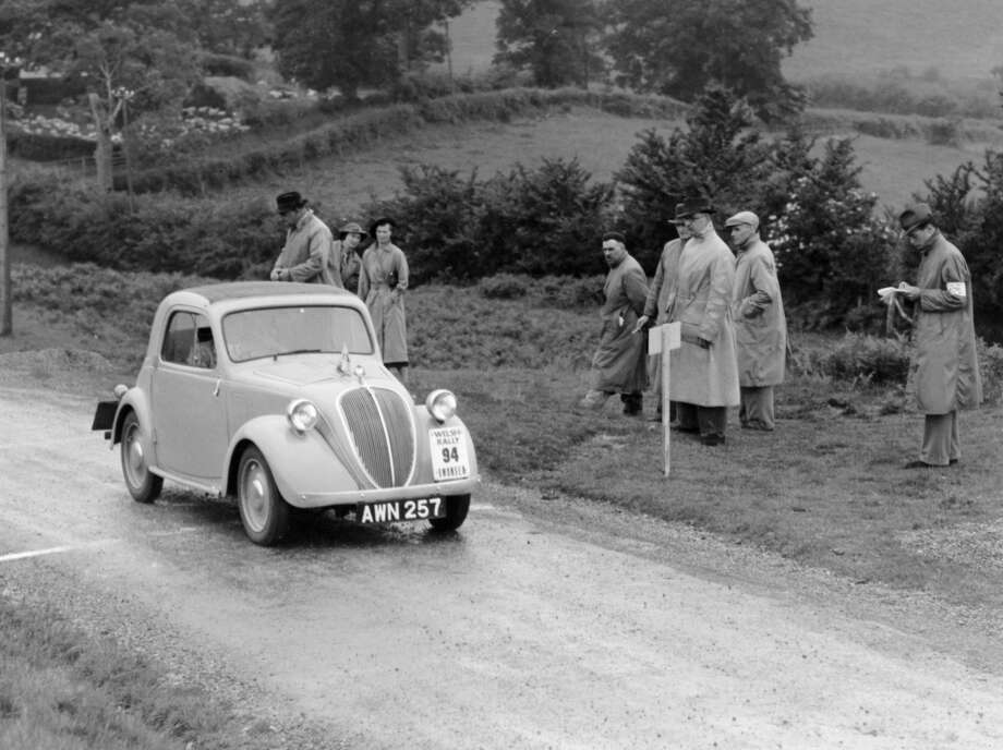 1937 Fiat 500 Photo: Heritage Images/Heritage Images/Getty Images