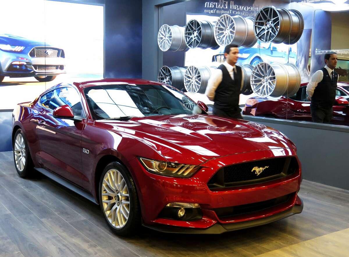 No. 15: Ford Mustang