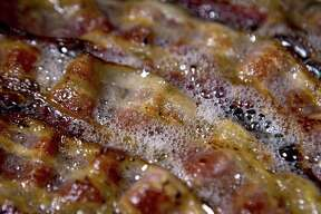 """Bacon-themed food items will be available at """"Bacon Bacon Bacon,"""" an Aug. 12 fundraiser planned at the downtown Freetail Brewery location."""