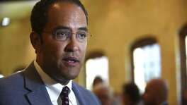 U.S. Rep. Will Hurd, R-Helotes, speaks about the North American Free Trade Agreement, or NAFTA,  before a luncheon sponsored by the Free Trade Alliance of San Antonio and the San Antonio Chamber of Commerce at the Pearl Stable on Friday, July 21, 2017.