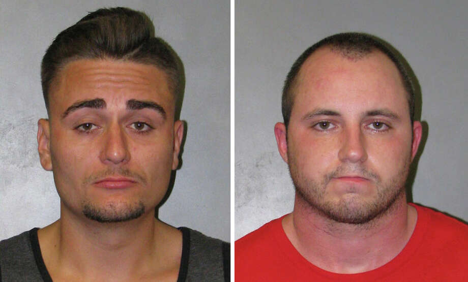 Jeffrey Stahlhut and James Vernon are charged with felony possession of a controlled substance with intent to distribute in Harris County. Photo: Harris County Pct. 4 Constable