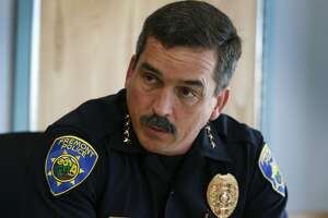 Fremont Police Chief Richard Lucero discusses his city's low homicide rate and other crime statistics in Fremont, Calif. on Thursday, July 20, 2017. Consistently rated as one of the safest cities in the nation, Fremont has not had any homicides reported since 2015.