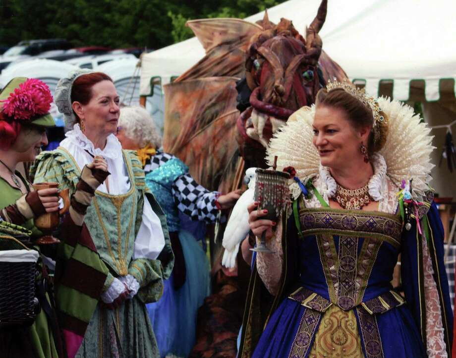 Daniel Frinta captured these caricatures at the Renaissance festival held at Indian Ladder Farms in Altamont, N.Y. (Daniel Frinta)