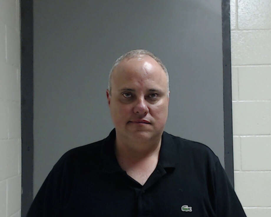 Oscar Elizondo, 47, a former city commissioner of Pharr, is pictured here after a 2016 arrest on charges of DWI. Photo: Courtesy Hildago County