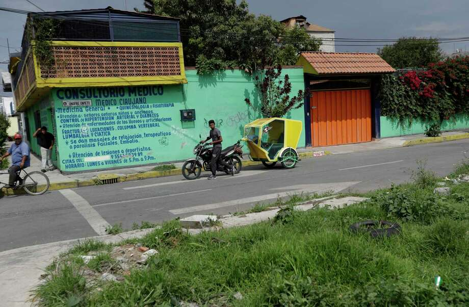 The Tlahuac district of Mexico City is where authorities say  Javier Reyes was found Friday with multiple bullet wounds. FILE PHOTO Photo: Rebecca Blackwell, STF / Copyright 2017 The Associated Press. All rights reserved.