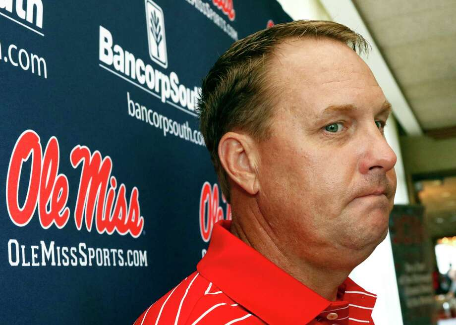 Former Mississippi coach Hugh Freeze was ousted Thursday after school officials cited a pattern of personal misconduct. Photo: Rogelio V. Solis, STF / Copyright 2017 The Associated Press. All rights reserved.
