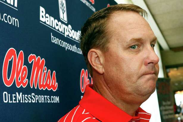 Former Mississippi coach Hugh Freeze was ousted Thursday after school officials cited a pattern of personal misconduct.