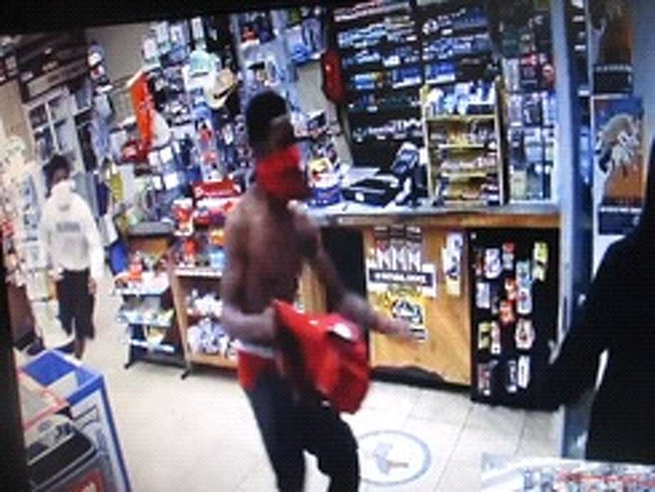 Three black males reportedly robbed the Valero Country Food Mart at gunpoint Friday morning. Photo: Submitted