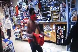 Three black males reportedly robbed the Valero Country Food Mart at gunpoint Friday morning.
