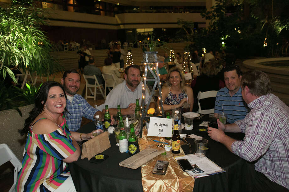 PUMPJACK PARADISE: Navigator Oil was among companies that sponsored a table for Pumpjack Paradise's evening party. Photo: Courtesy Photo