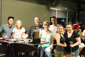 TopGolf Webster brought the partiers out with games, DJs and food.