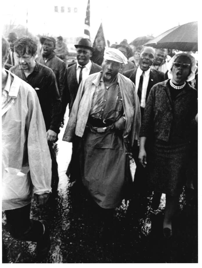 "Alexander ""Sam"" Aldrich walked in the third civil rights march in Selma, Ala. alondside Dr. Rev. Martin Luther King Jr. (Provided)"