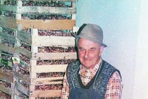Anton Ulčnik, Melania Trump's grandfather.
